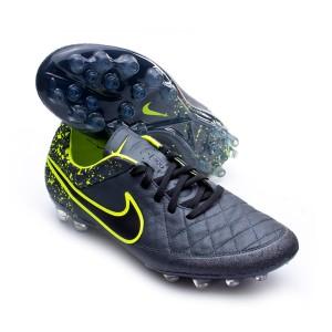 d1f749880 Football Boots Nike Tiempo Legend V AG-R Anthracite-Black-Volt ...