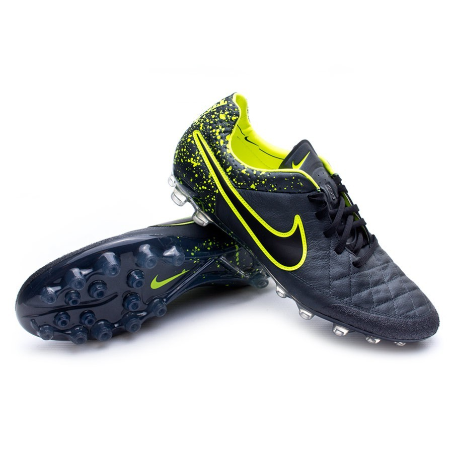 new style 9cfb2 3a715 Football Boots Nike Tiempo Legend V AG-R Anthracite-Black-Volt - Tienda de  fútbol Fútbol Emotion