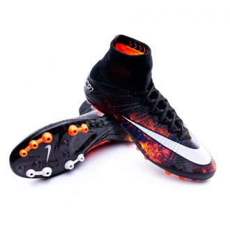Mercurial Superfly CR ACC AG-R Black-White-Total crimson-Purple