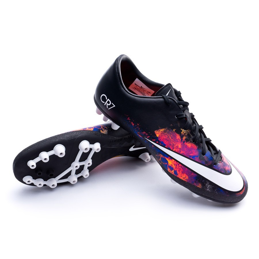 ... Bota Mercurial Victory V CR AG-R Black-White-Total crimson-Purple.  CATEGORY fd8b1f514