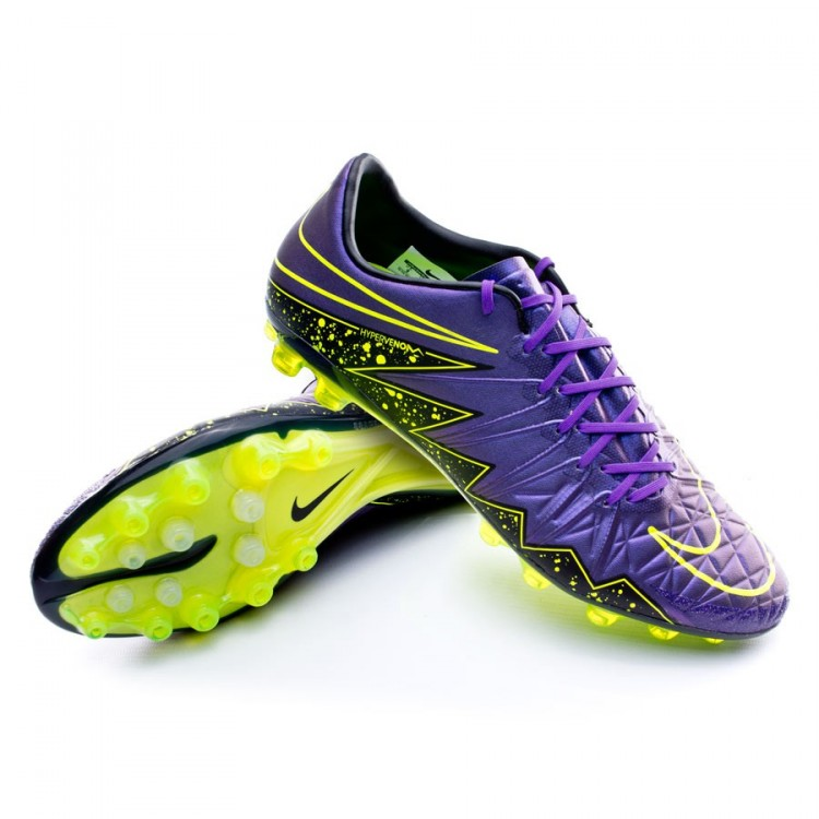 b0d42ae9a Football Boots Nike Hypervenom Phinish II AG-R Hyper grape-Black ...