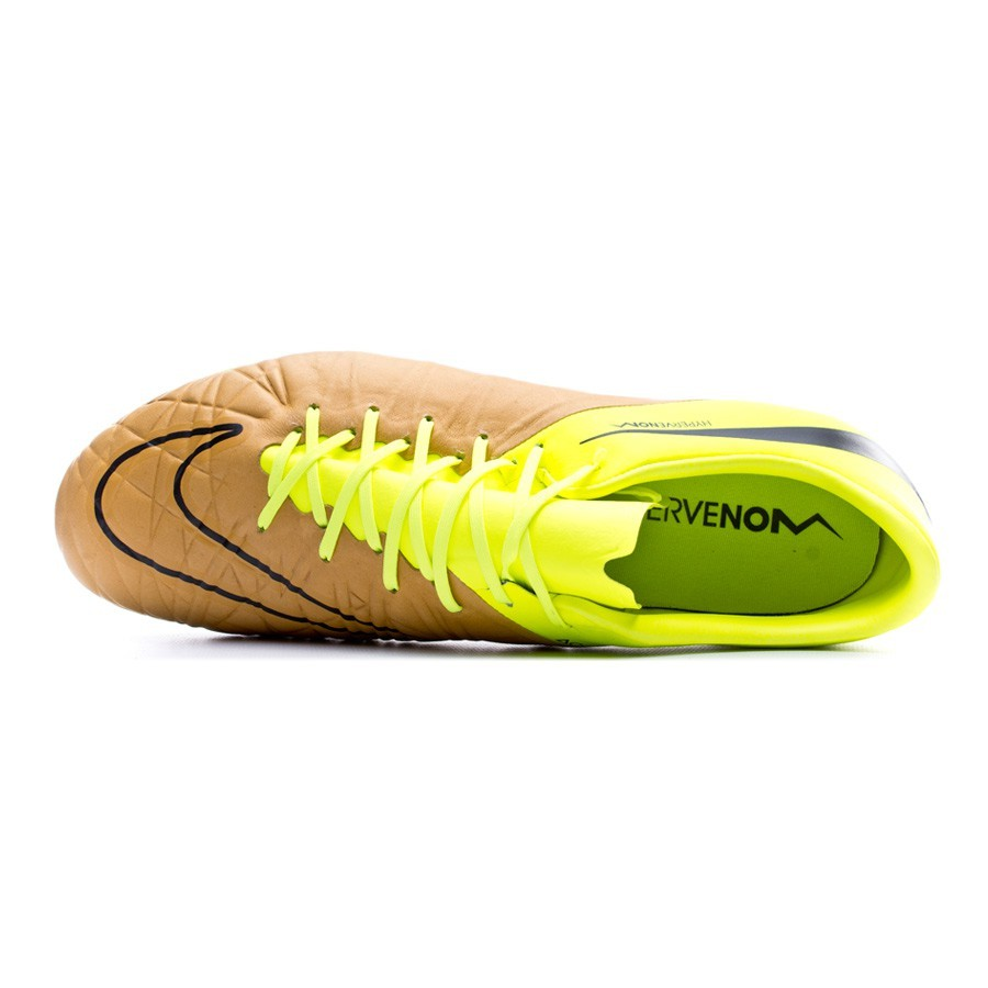 4cf2f778b Football Boots Nike HyperVenom Phinish Tech Craft Piel FG Canvas-Black-Volt  - Football store Fútbol Emotion