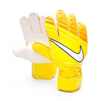 Guante  Nike Jr Match Yellow-Total orange-White