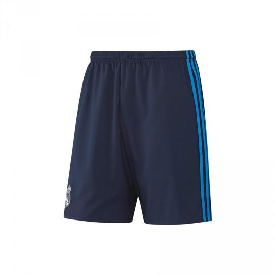 Pantalón corto  adidas Real Madrid 3ª 2016 Night indigo-Bright blue