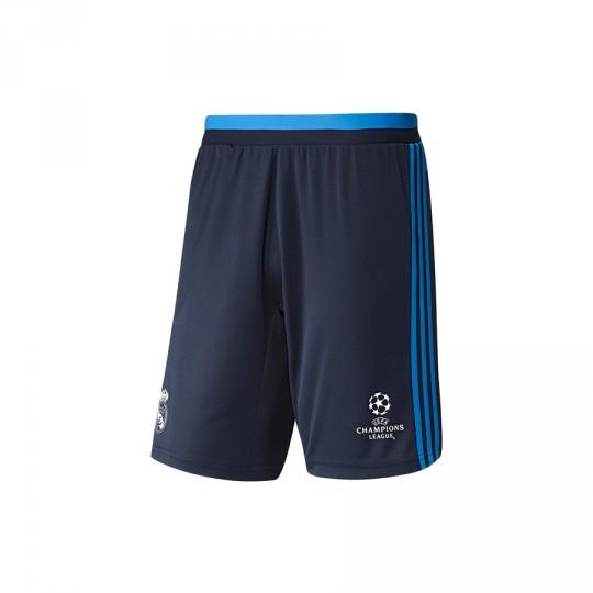 Pantalón corto  adidas Real Madrid Training 3ª Night indigo-Bright blue