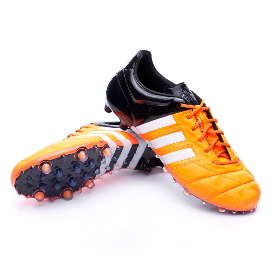 best website 1a22b 0c1e3 Scarpe adidas Ace 15.1 FG AG Pelle Solar orange - Negozio di calcio Fútbol  Emotion
