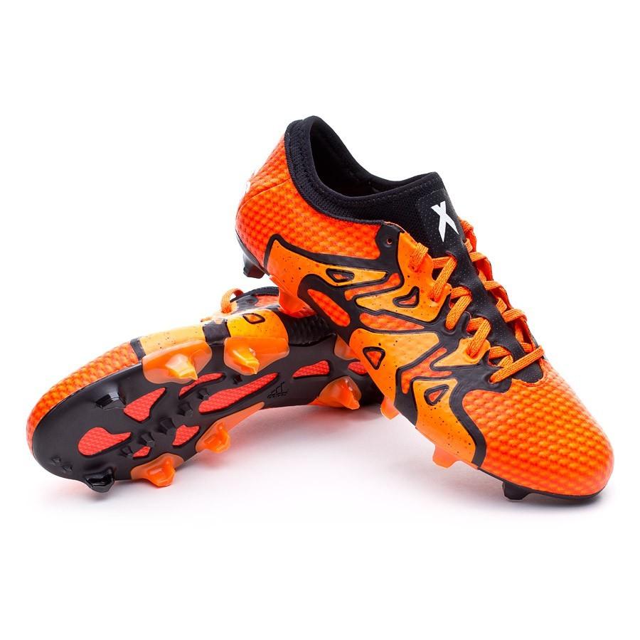 wholesale dealer af6d3 b0ba1 Chuteira adidas X 15.1 Primeknit FG Solar orange - Loja de futebol Fútbol  Emotion