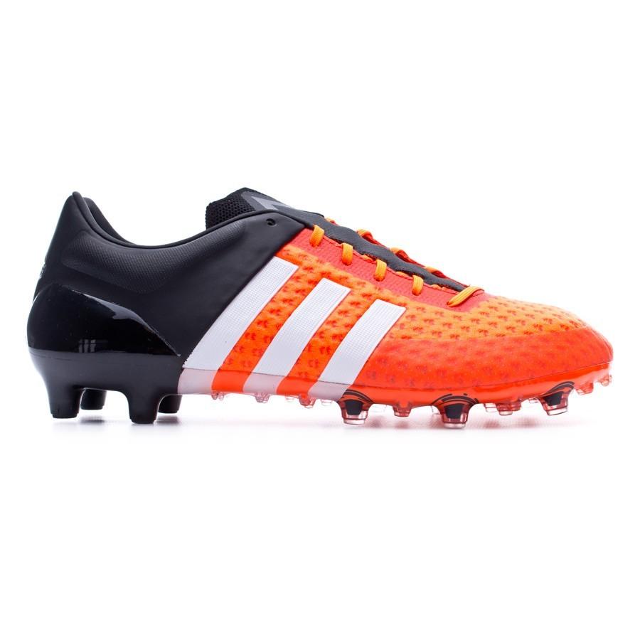 2c0a1258ee452 Chuteira adidas Ace 15.1 Primeknit FG Solar orange - Loja de futebol Fútbol  Emotion