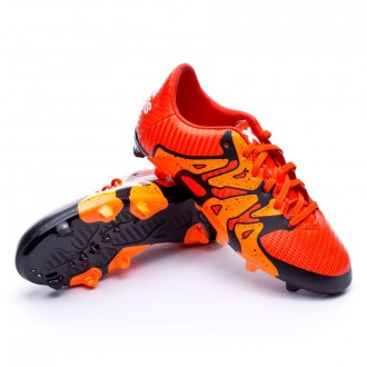 Chuteira  adidas Jr X 15.3 FG/AG Bold orange
