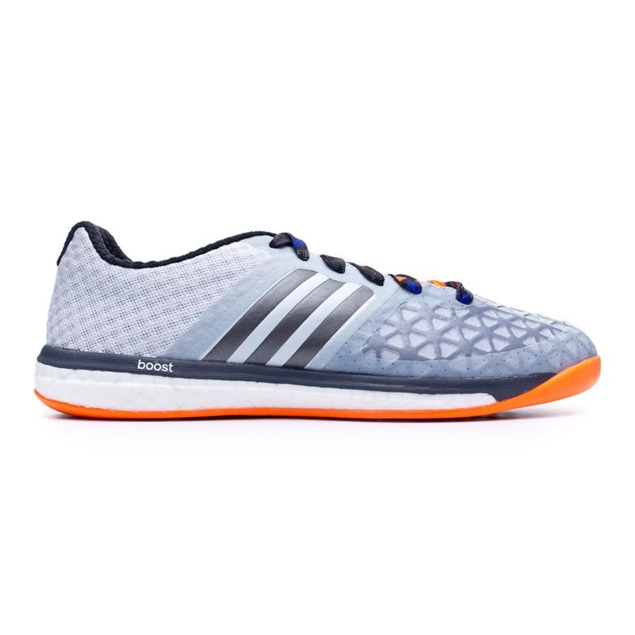 f06ec8dd494 Futsal Boot adidas Ace 15.1 VS Boost Clear Grey - Football store Fútbol  Emotion