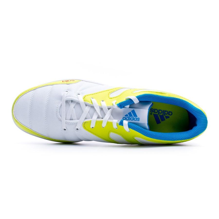 ecac712373eee Sapatilha de Futsal adidas Messi 15.4 ST White - Loja de futebol Fútbol  Emotion