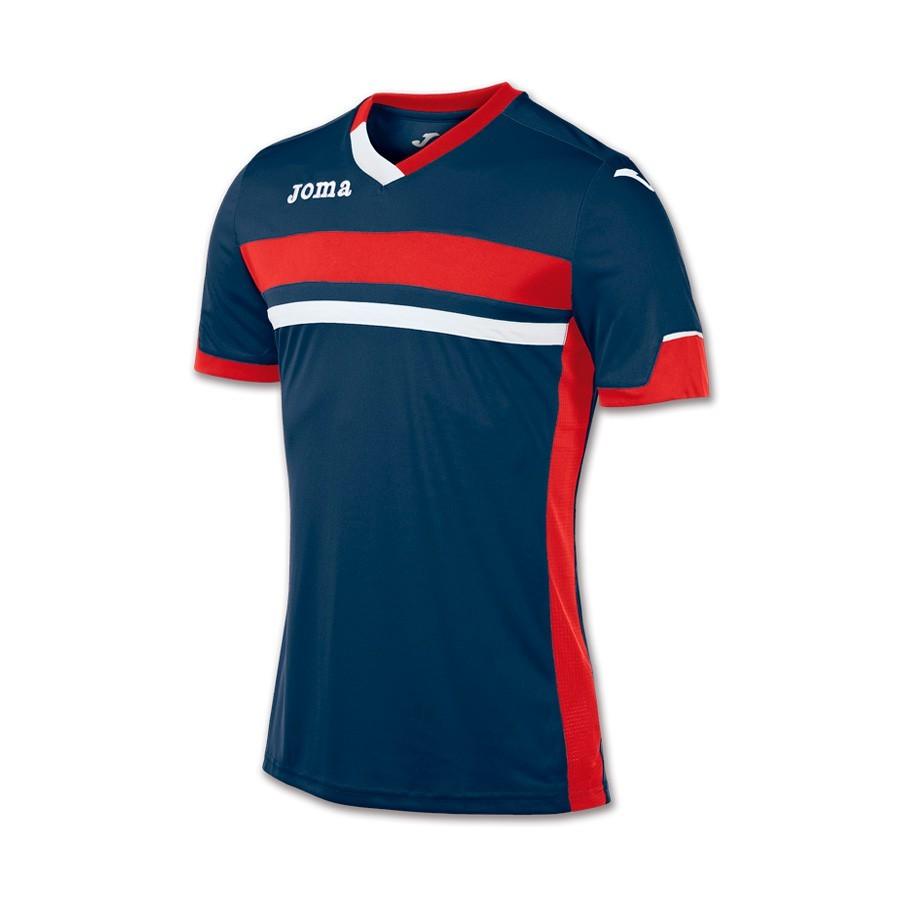 d0d99906ed254 Camiseta Joma Galaxy Marino-Rojo - Tienda de fútbol Fútbol Emotion
