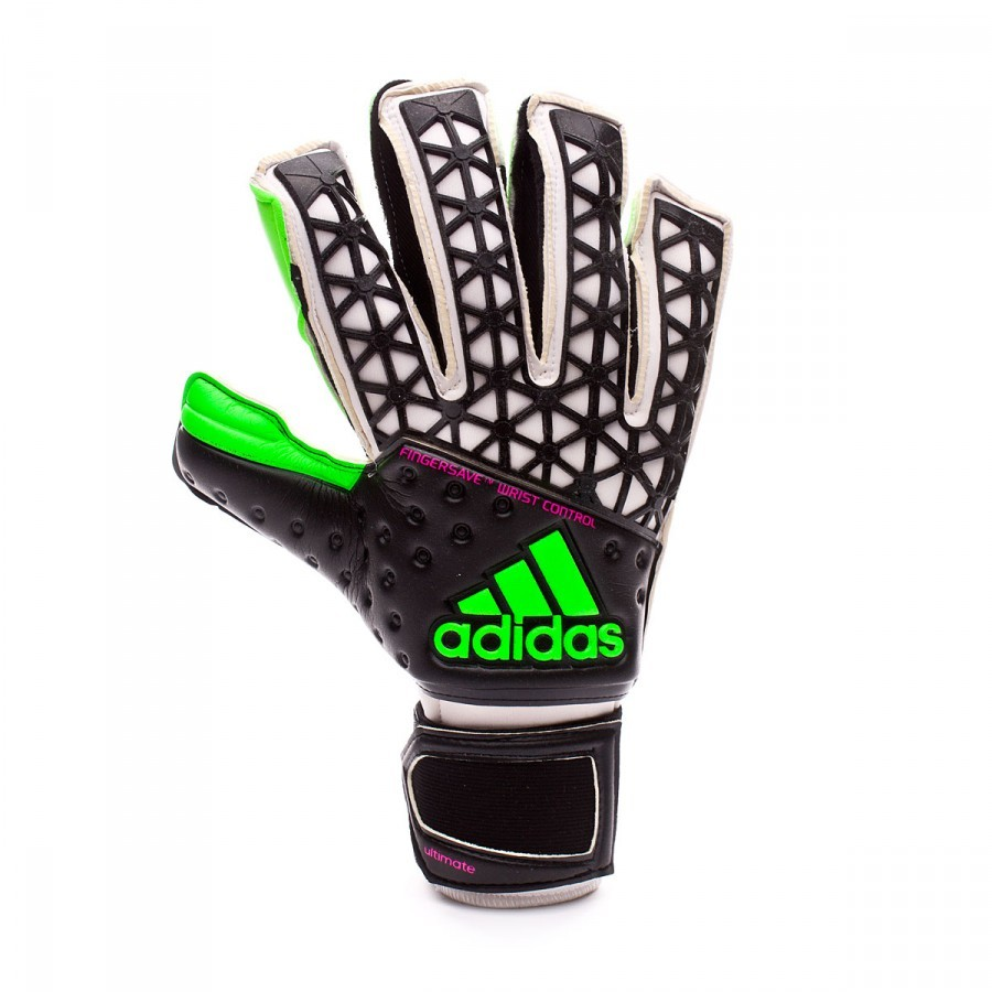 Glove adidas Ace Zones Ultimate Green-Navy blue - Soloporteros es ... 2bc3d83f7