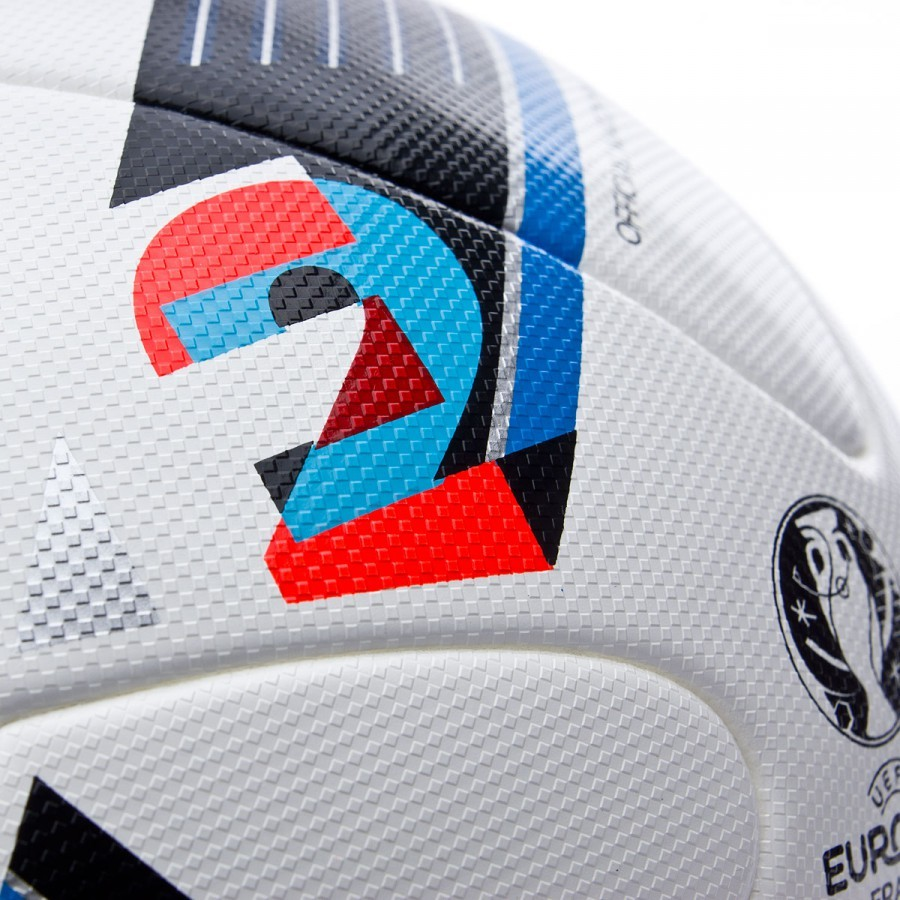 9781f93321a85 Bola de Futebol adidas Euro 16 OMB Branco - Loja de futebol Fútbol Emotion