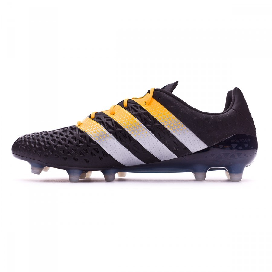 new arrival 760ff b1d7e Boot adidas Ace 16.1 FG AG Core black-Silver metallic-Solar gold - Football  store Fútbol Emotion