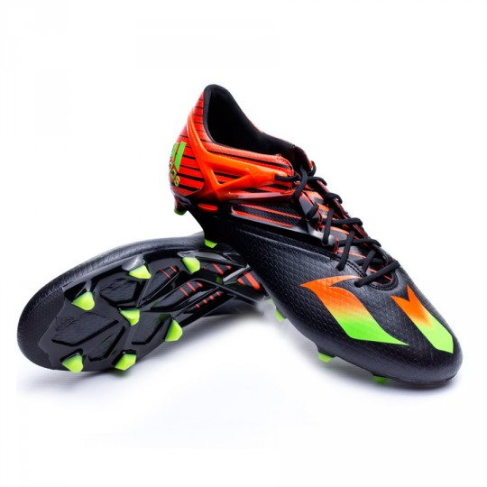 Bota  adidas Messi 15.1 FG/AG Core black-Solar green-Solar red
