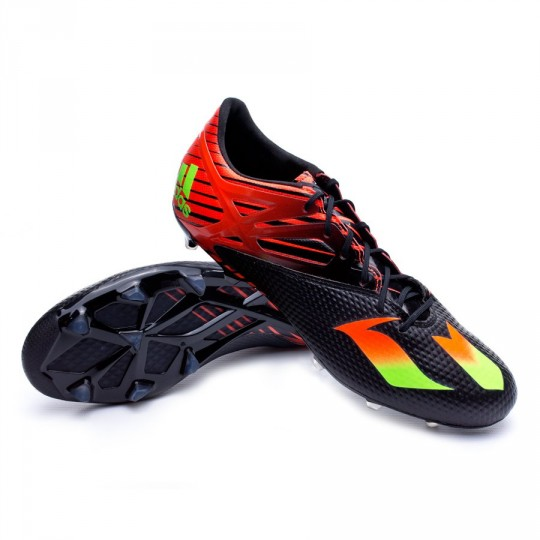 Chaussure  adidas Messi 15.2 FG/AG Core black-Solar green-Solar red