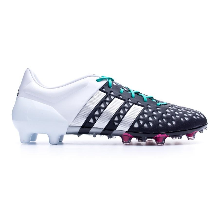 finest selection 77db4 06b0a Boot adidas Ace 15.1 FGAG Core black-Matte silver-White - Tienda de fútbol  Fútbol Emotion
