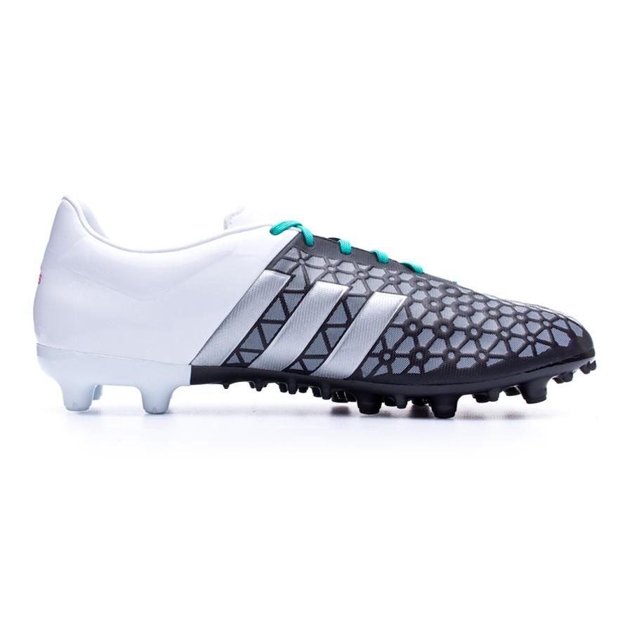 751b4f99812 Football Boots adidas Ace 15.3 FG AG Core black-Matte silver-White -  Football store Fútbol Emotion