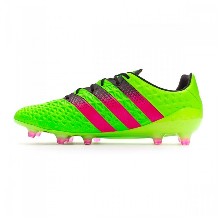 new york 423d8 06dc3 bota-adidas-ace-16.1-fgag-solar-green-shock-