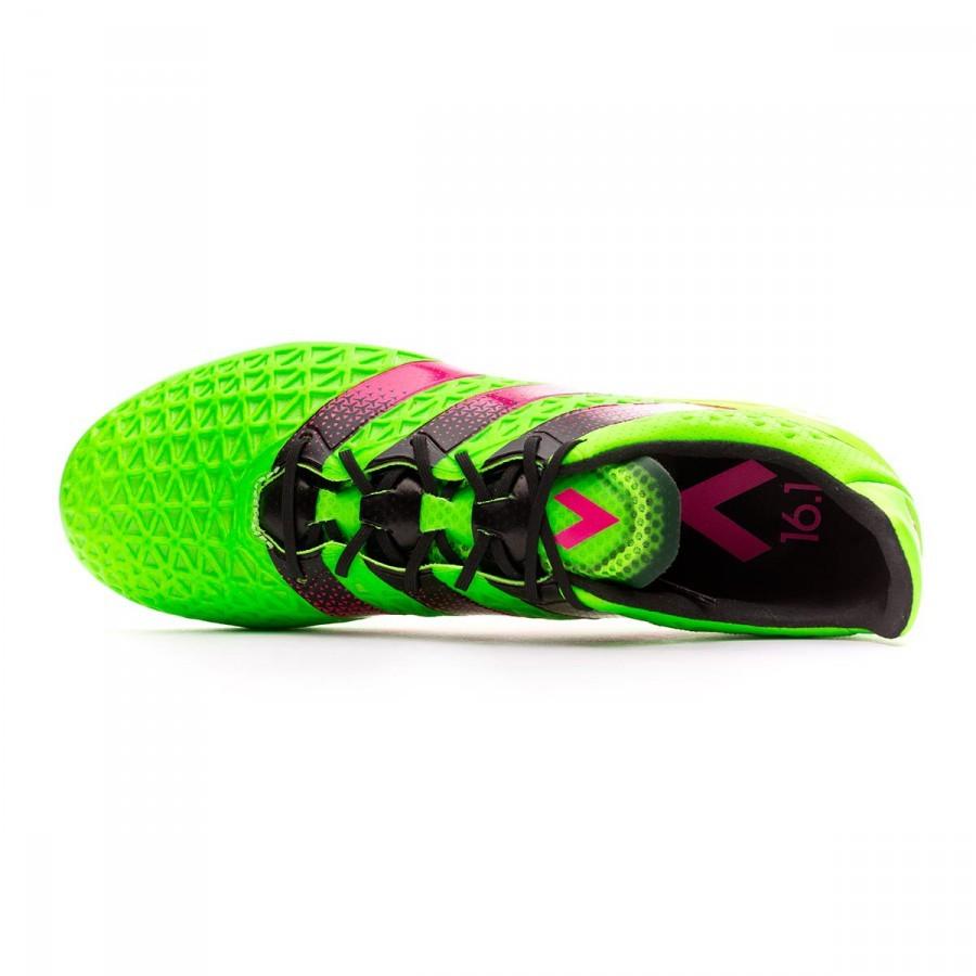 Bota de fútbol adidas Ace 16.1 FG AG Solar green-Shock pink-Core black -  Leaked soccer 7d10137616d1c