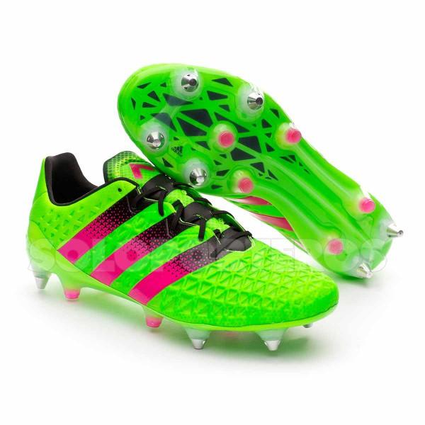 1dda3fa93752d Boot adidas Ace 16.1 SG Solar green-Shock pink-Core black - Leaked ...