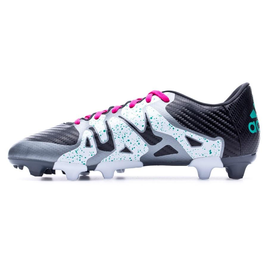 promo code 97833 ea7c3 Boot adidas Jr X 15.3 FGAG Core black-Shock mint-White - Football store  Fútbol Emotion