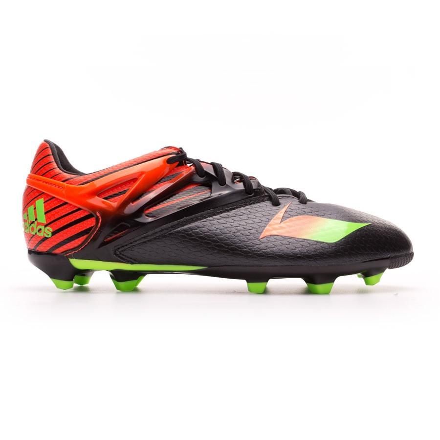 53b82836ad53 Football Boots adidas Kids Messi 15.1 FG/AG Core black-Solar green-Solar  red - Football store Fútbol Emotion