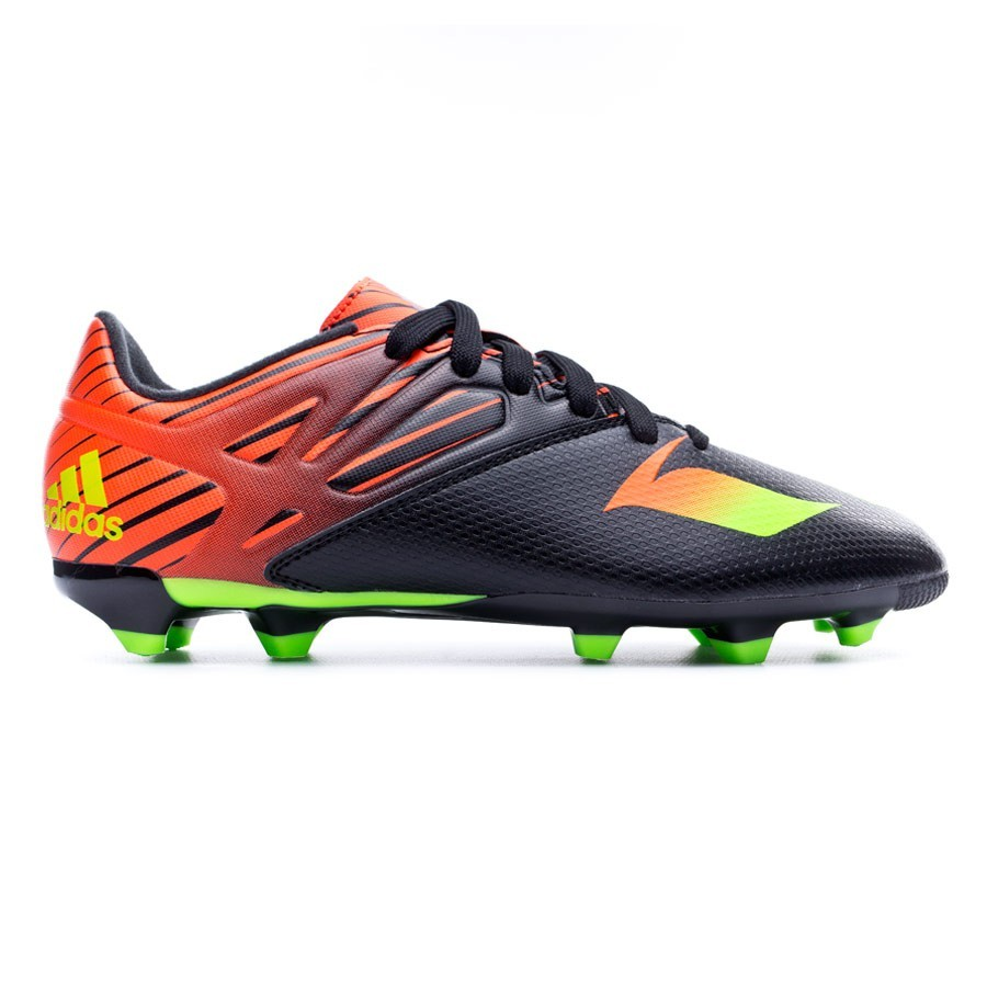 the latest 2922b daba1 ... Bota Messi 15.3 FG AG Niño Core black-Solar green-Solar red. Vídeo