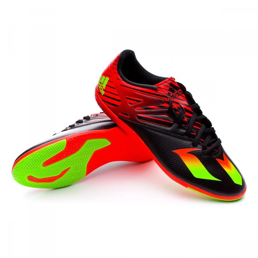 Jlt13cfk Futsal Core Solar De Messi Chaussure Adidas 3 15 Black Green In pqUzMVS