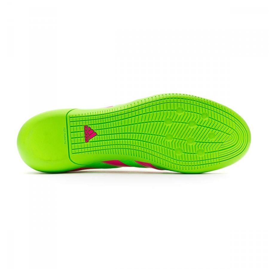 Sapatilha de Futsal adidas Ace 16.3 Primemesh IN Solar green-Shock ... e7b2d5e50f735