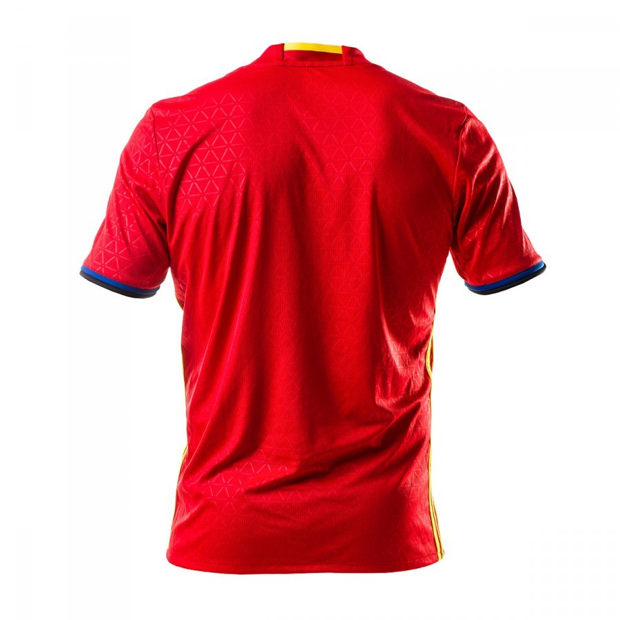 35674bc2927d5 Camiseta adidas España Primera Equipación Euro 2016-2017 Scarlet-Bright  yellow - Tienda de fútbol Fútbol Emotion