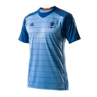 Camisola  adidas Seleção Espanhola Guarda-Redes Principal Euro 2016 Light blue-Dark marine