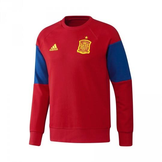 Sudadera  adidas Selección Española Euro 2016 Scarlet-Bright yellow-Collegiate royal