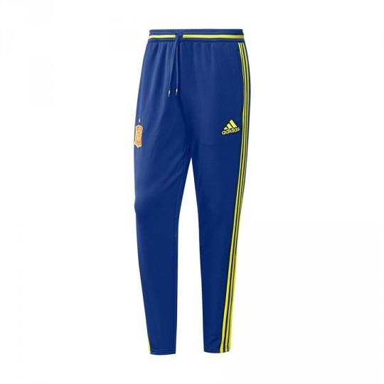 Pantalón largo  adidas Selección Española Euro 2016 Collegiate royal-Bright yellow