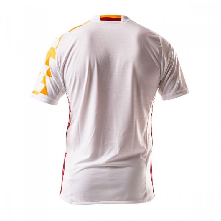 Camiseta adidas España Segunda Equipación Euro 2016-2017 Niño White ... 63d3b5648873f