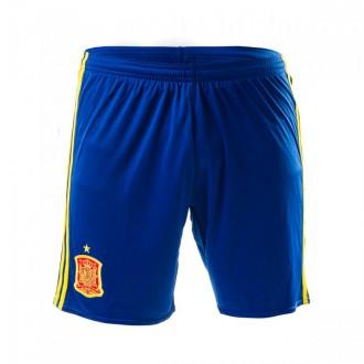 Calções  adidas Jr Seleção Espanhola Principal Euro 2016 Collegiate royal-Bright yellow