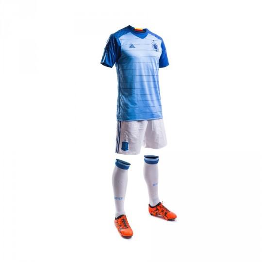 Conjunto  adidas Jr Seleção Espanhola Guarda-Redes Euro 2016 Light blue-Dark marine