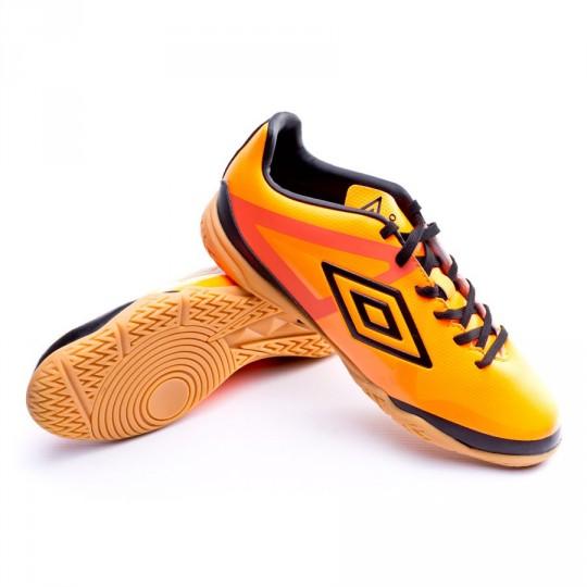 Zapatilla de fútbol sala  Umbro Velocita Club Sala Orange-Black