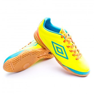 Zapatilla de fútbol sala  Umbro Velocita Club Sala Yellow-Blue