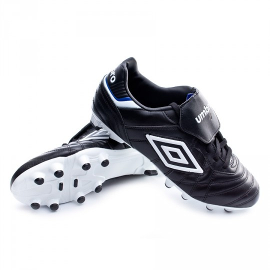 Bota  Umbro Speciali Eternal Premier HG Black-White-Clematis blue