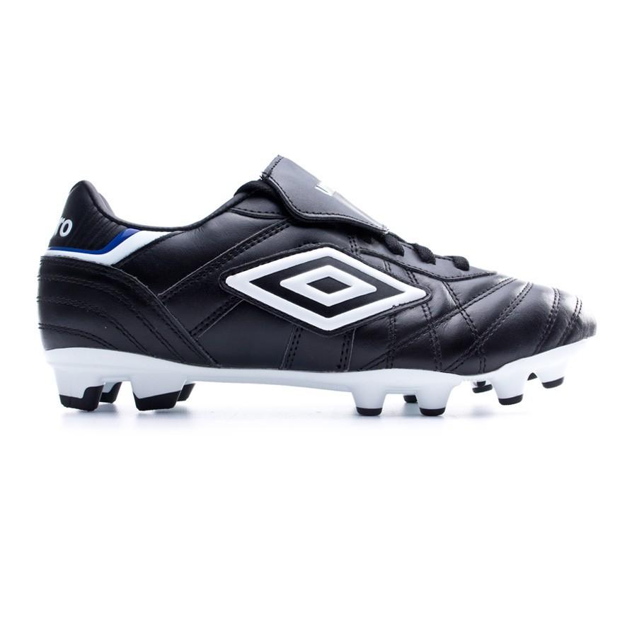 3863ca71a0664 Chuteira Umbro Speciali Eternal Premier HG Black-White-Clematis blue - Loja  de futebol Fútbol Emotion