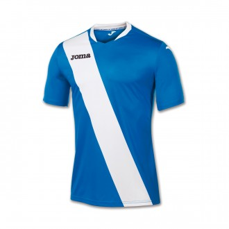 Playera Joma Monarcas m/c Royal-Blanca