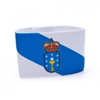 Braçadeira Capitão Mercury Capitán Galicia Branco-Azul