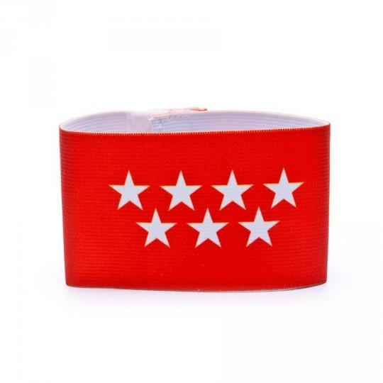 Brazalete  Mercury Capitán Madrid Rojo