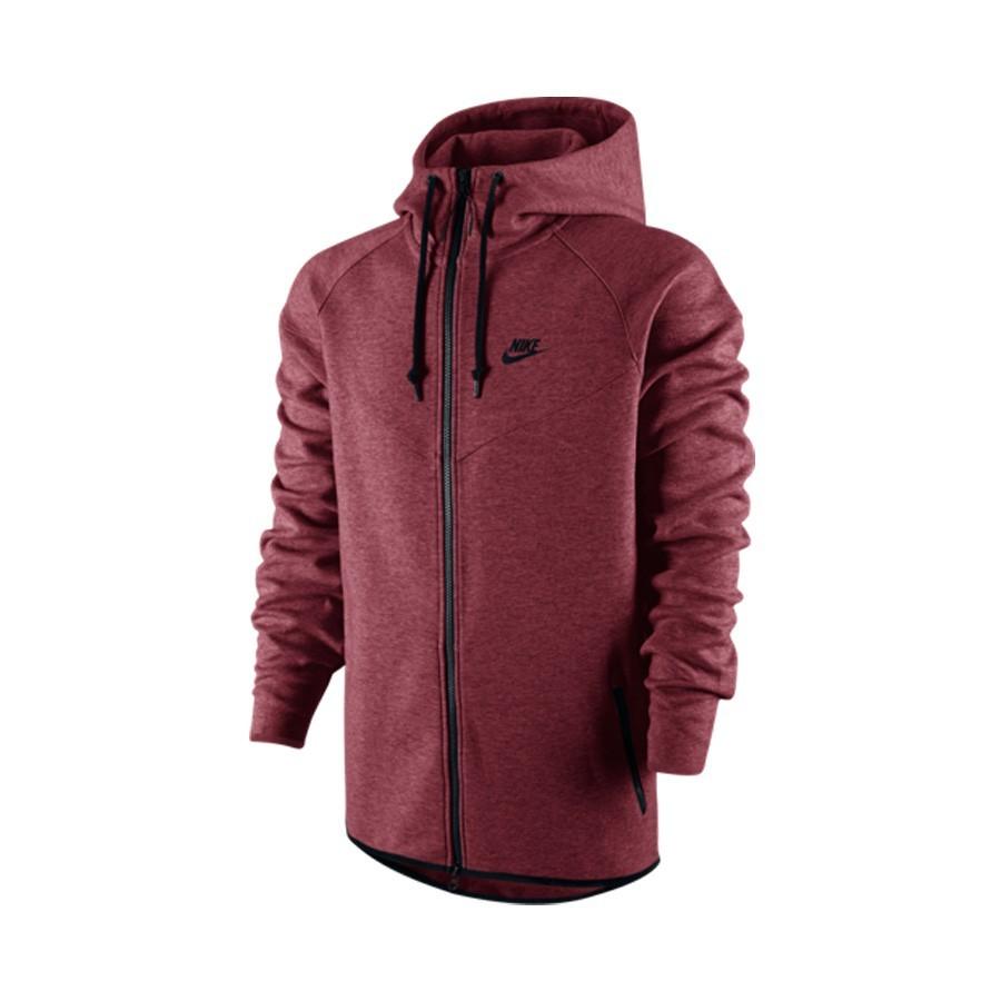 0504be9df9 Sweatshirt Nike Nike Tech Fleece Windrunner Team red-Black ...