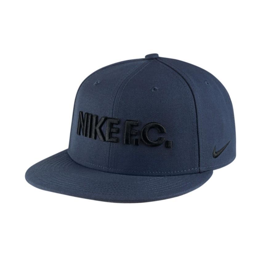 Cap Nike Nike F.C. True Midnight navy-Dark obsidian-Black - Football ... cdaf8740fd1