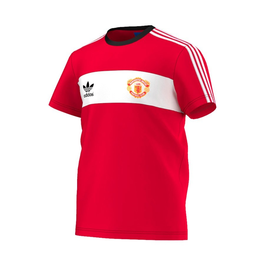 cheap for discount 09745 46364 Camiseta Manchester United retro 85 Red-White