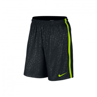 Pantalón corto  Nike Strike Longer Woven Printed Graphic Black-Volt