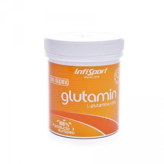 Nutrición deportiva  InfiSport Glutamina + Zn 150 comp.